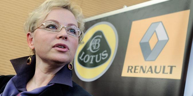Oxana Kossatschenko: In der Formel 1 geht man mit seinem Privatleben nur ungern an die Öffentlichkeit. Foto: ITAR-TASS