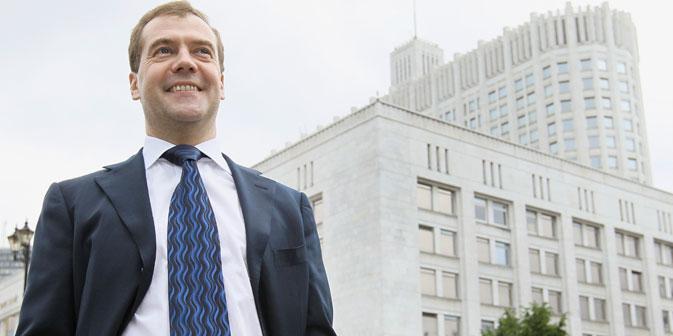 Dmitri Medwedjew: Der Vorteil der Welthandelsorganisation besteht darin, dass wir begonnen haben, nach allgemein gültigen Regeln zu leben.  Foto: Reuters