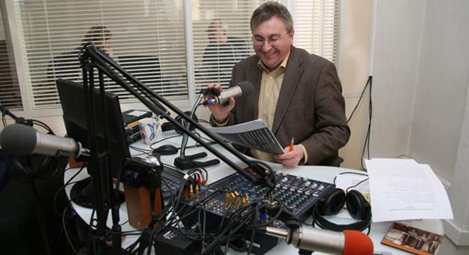 Der deutsche Diplomat Markus Forster macht Country-Musik in Jekaterinburg populär. Foto: Tatjana Andrejewa