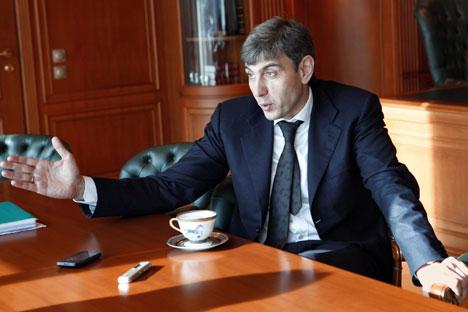 Der Unternehmer Sergej Galizkij aus Krasnodar hat bewiesen, dass man in Russland sein Vermögen nicht nur mit Rohstoffen, sondern auch im Einzelhandel machen kann – sogar nahezu aus dem Nichts. Foto: Kommersant