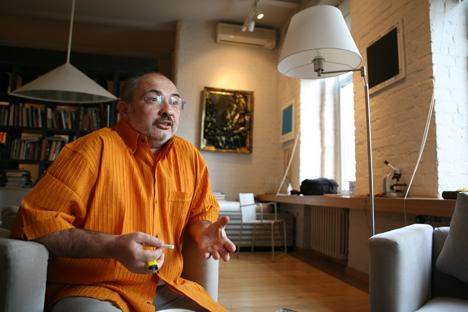 Der Galerist Marat Gelman. Foto: Rossijskaja Gaseta