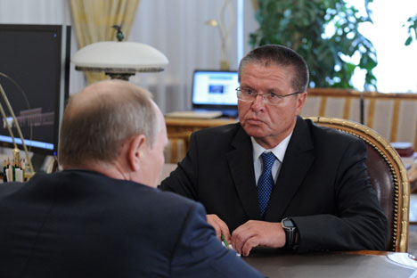 Alexej Uljukajew, bisher Vize-Gouverneur der Zentralbank, wird neuer Minister für wirtschaftliche Entwicklung. Foto: ITAR-TASS