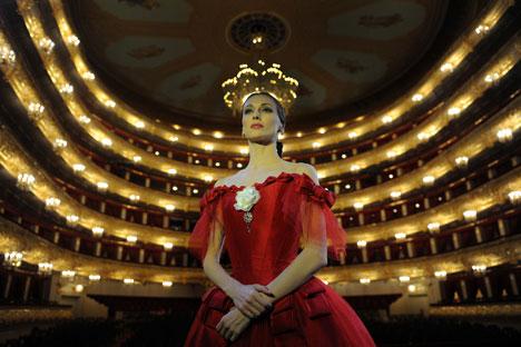 Die Primabalerina des Bolschoi Theaters Swetlana Sacharowa. Foto: PhotoShot / Vostok Photo