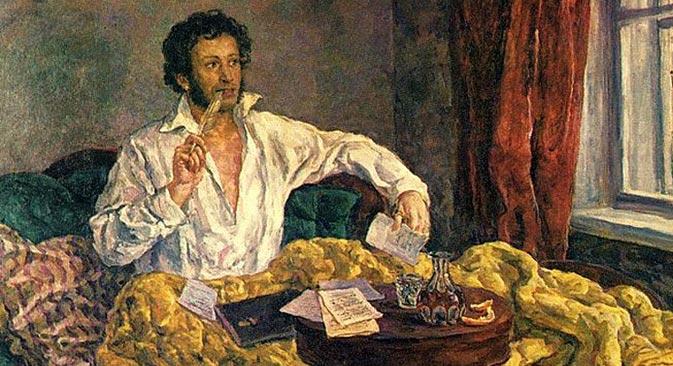 Im Westen steht Puschkin jedoch deutlich hinter solchen Giganten der russischen Literatur wie Tolstoi und Dostojewski zurück. Bild aus den freien Quellen.