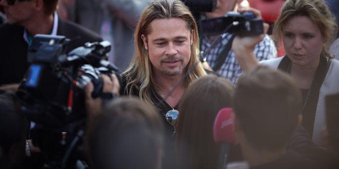 Brad Pitt ist der Stargast des 35. Moskauer Filmfestivals. Foto: Jelena Potschetowa
