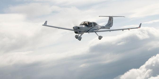 Das Flugzeug Diamond DA40. Foto: Pressebild