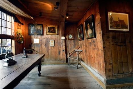 Die Ausstattung des Zar-Peter-Hauses. Foto: Zaans Museum