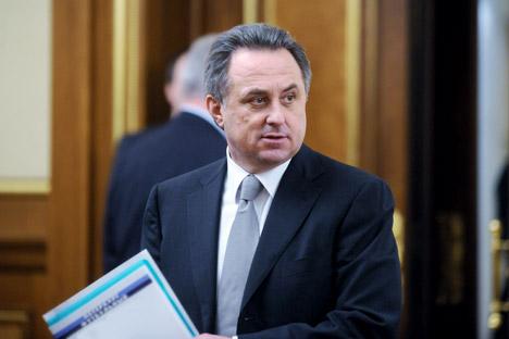Der Minister für Sport der Russischen Föderation Witalij Mutko. Foto: ITAR-TASS