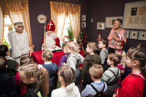 Das Projekt 'Deutsch für Kinder' in Jekaterinburg. Foto: ekburg.tv