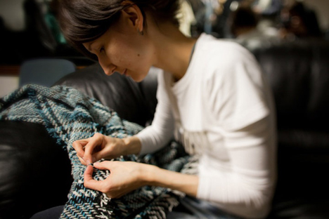 Jung-Designerin Sofia Zharova aus Moskau. Foto: Aus dem persönlichen Archiv