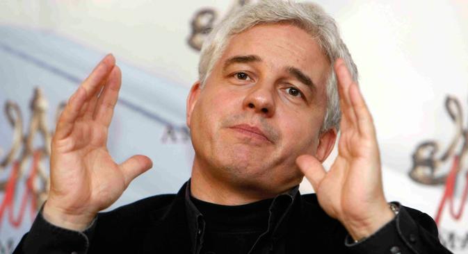 Der deutsche Regisseur und Kulturmanager Hans-Joachim Frey. Foto: AP