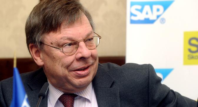 Der Botschafter Deutschlands in Russland Ulrich Brandenburg. Foto: ITAR-TASS