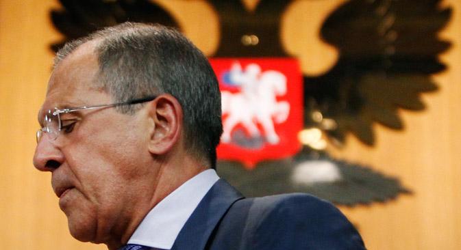 Der russische Außenminister Sergei Lawrow. Foto: Reuters