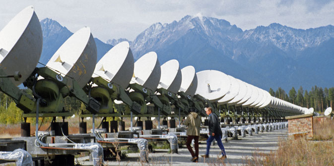 Das Max-Planck-Institut unterstützt den Bau eines neuartigen Gamma-Teleskops in Sibirien, das einzigartige Einblicke in die Astrophysik ermöglicht. Foto: ITAR-TASS