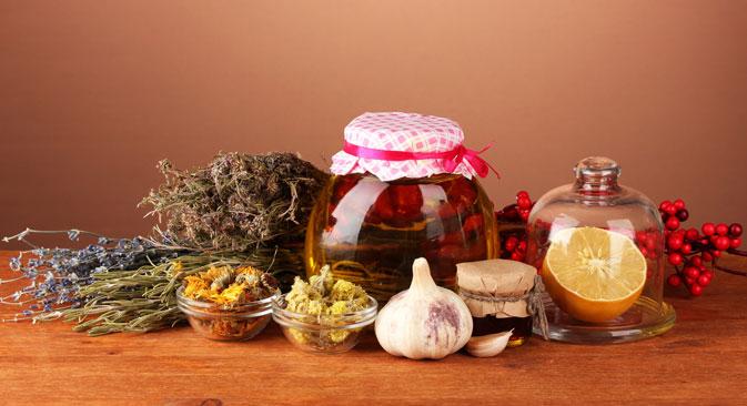 Immer mehr Russen greifen bei Krankheiten auf pflanzliche Heilmittel zurück. Foto: PhotoXPress