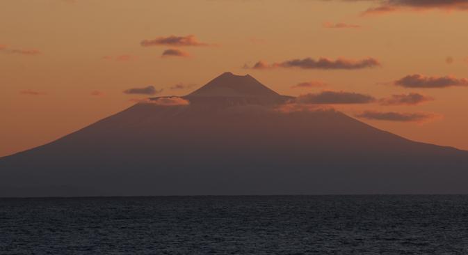Die Insel Kunaschir. Foto: Andrei Shapran