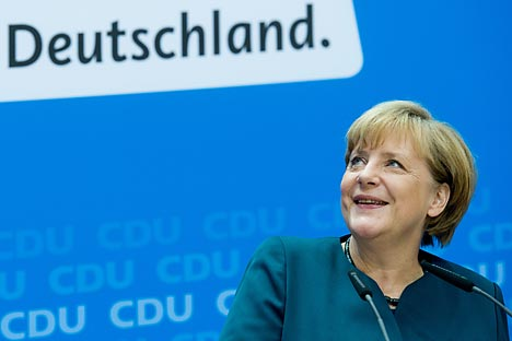 Chanceler alemã manteve postura ativa em torno da negociações para paz na Ucrânia Foto: DPA