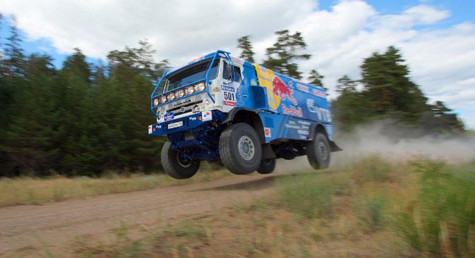 KAMAZ macht mit weit mehr als Dakar-Rennsiegen auf sich aufmerksam. Foto: ITAR-TASS