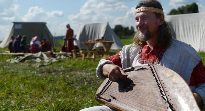In einem Freizeitpark in Moskau sollen historische Ereignisse nachgestellt werden. Foto: ITAR-TASS
