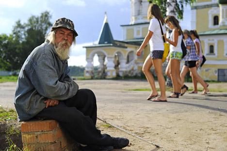 Obdachlose können nur selten wieder in ein normales Leben zurückkehren – staatliche Hilfe gibt es wenig. Foto: RIA Novosti