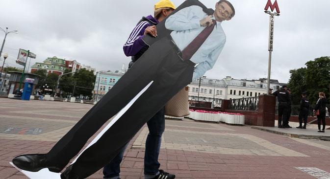 Studien zufolge interessieren sich Russen kaum für aktuelle Fragen der Politik und Wirtschaft. Foto: ITAR-TASS
