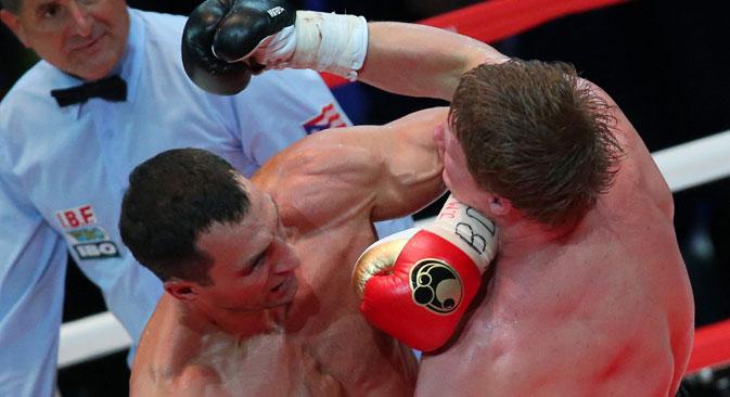 Russische Experten sind überzeugt: Alexander Powetkin verlor gegen Wladimir Klitschko wegen seiner taktischer Unterlegenheit.  Foto: ITAR-TASS