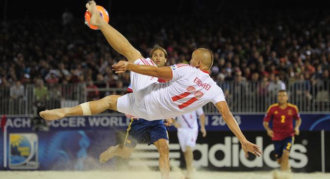 Mit zwei Weltmeistertiteln in Folge bricht die russische Mannschaft erfolgreich die brasilianische Dominanz. Foto: Alamy/Legion Media