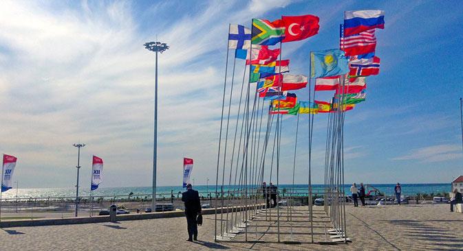 Die russische Regierung setzt auf Sotschi als Marke, die Investoren anziehen und für die Zukunft binden soll. Foto: Russland HEUTE