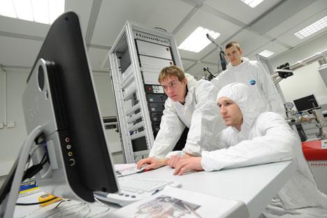 Das Innovationszentrum Skolkowo soll Russland von seiner Abhängigkeit von Öl und Gas wegbringen. Foto: RIA Novosti