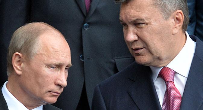 Im Ringen um die Unterzeichnung des Assoziierungsabkommens mit der EU scheinen die Bedingungen für die Ukraine nicht attraktiv genug. Foto: AFP / East News