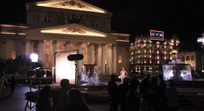 Anlässlich der Russischen Filmwoche in Berlin haben zwei der bekanntesten Filmhochschulen einen gemeinsamen Trailer gedreht. Foto: Pressebild