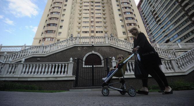 Laut einer internationalen Rangliste gehören Moskaus Premiumwohnungen zu den teuersten Immobilien Europas. Foto: ITAR-TASS