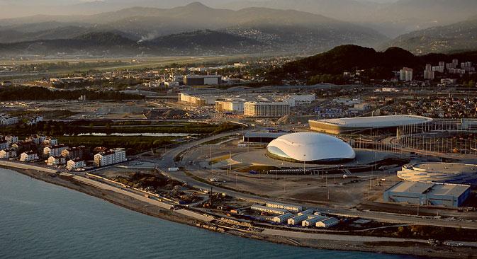 In Sotschi gelten die umfangreichsten Überwachungsmaßnahmen in der Geschichte der Olympischen Spiele. Foto: Michail Mordassow