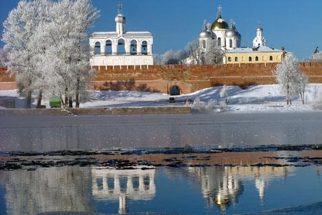 Die Sophienkathedrale im Nowgoroder Kreml. Foto: Pressebild