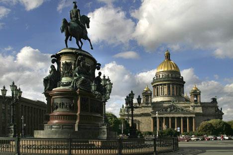 Die Isaakskathedrale ist die größte Kirche St. Petersburgs. Foto: Pressebild