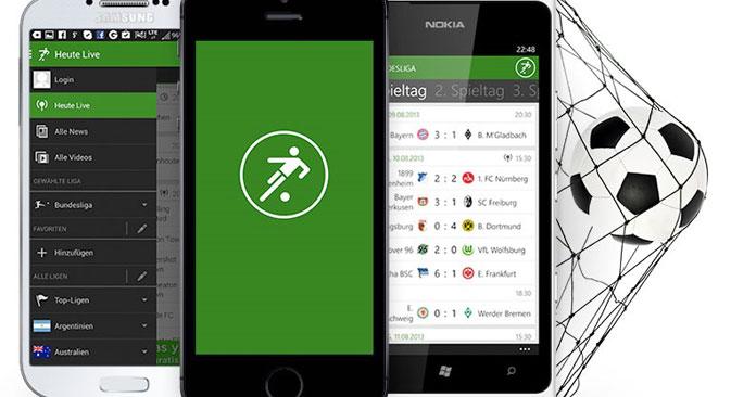 """Die App """"iLiga""""/""""The Football App"""" bietet alles, was das Fußballherz begehrt. Foto: Pressebild"""