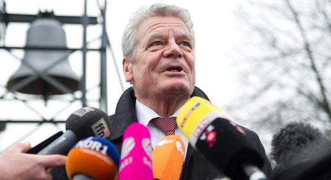 Der deutsche Bundespräsident Joachim Gauck wird nicht im Februar zu den Olympischen Spielen in Sotschi reisen.  Foto: DPA
