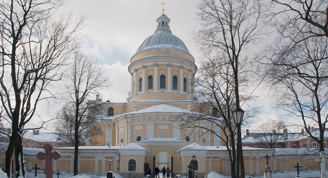Alexander-Newski-Kloster in Sankt Petersburg. Foto: Lori/Legion Media