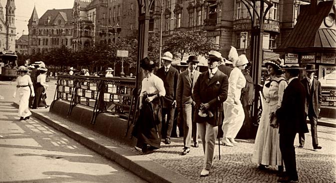 Das Zentrum der vielköpfigen russischen Diaspora wurde Charlottenburg, ein vornehmes und prestigeträchtiges Stadtviertel. Foto: AKG / East News