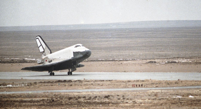The Soviet space shuttle was the first such craft anywhere in the world to land automatically. Source: RIA Novosti