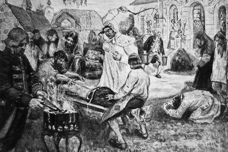 Harte folter geschichten