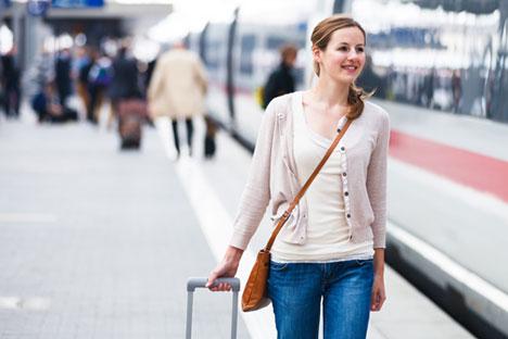 Touristen, die mit dem Zug nach Russland einreisen, werden voraussichtlich bis zu drei Tagen von der Visumpflicht befreit.  Foto: PhotoXpress