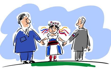 Die Initiierung trilateraler Gespräche zwischen der Ukraine, Russland und der Europäischen Union die natürlichste Option, um alle vorhandenen Fragen ehrlich zu erörtern. Foto: Alexej Jorsch