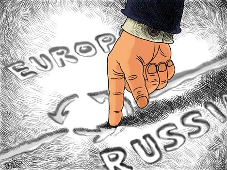 Eine Einbindung in die Europäische Union kann man als Anstoß zur Reformierung des politischen Systems betrachten. Bild: Konstantin Maler