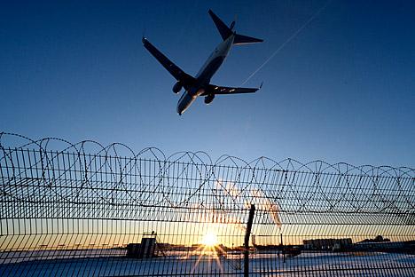 In Moskaus Umgebung sollen in den nächsten Jahren zwei Low-Cost-Flughäfen entstehen. Foto: Maxim Blinow/RIA Novosti
