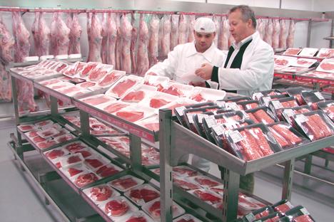 Ein Importverbot von Schweinefleisch aus der gesamten Europäischen Union tritt am 6. Februar 2014 in Kraft. Foto: PhotoXpress