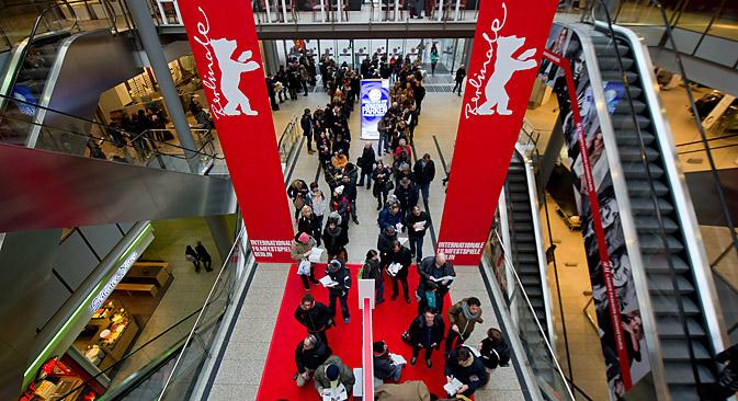 Bei der diesjährigen Berlinale ist kein russischer Film vertreten.  Foto: DPA