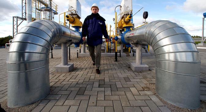 Gegenwärtig ist Gazprom Monopolist im Bereich des Gasexports über Pipelines und kontrolliert damit das Erdgastransportnetz des ganzen Landes.  Foto:  RIA-Novosti