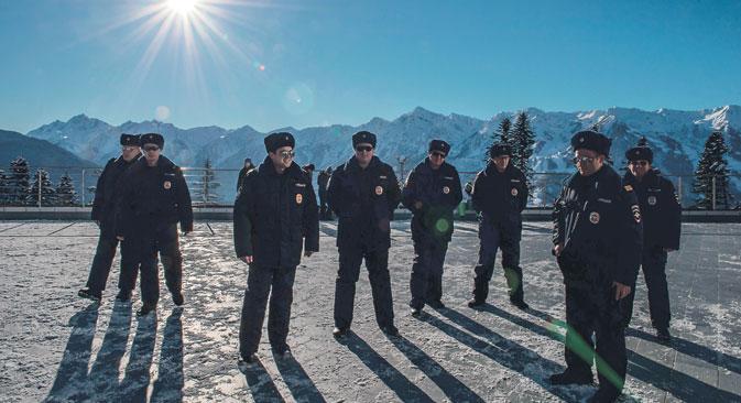 Nach den Anschlägen in Wolgograd gilt für Sotschi Sichterheitsstufe eins. Foto: RIA Novosti