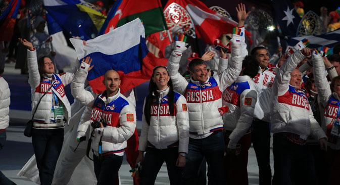 Insgesamt konnten russische Sportler bei den olympischen Spielen in Sotschi 33 Medaillen gewinnen.  Foto: flickr.com/sochi2014